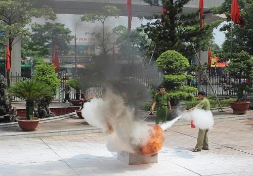 Quận Nam Từ Liêm tổ chức tập huấn công tác phòng cháy chữa cháy