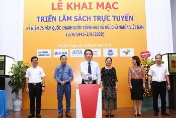 Khai mạc triển lãm sách trực tuyến chào mừng 75 năm Quốc khánh nước Cộng hoà Xã hội Chủ nghĩa Việt Nam