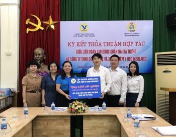Liên đoàn Lao động quận Hai Bà Trưng: Hợp tác chăm sóc sức khỏe cho đoàn viên công đoàn