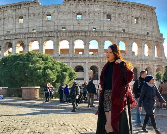 Hoa hậu du lịch Châu Á 2019 Phạm Lan Anh chia sẻ về hành trình tự lái xe gần 4.000km ở Ý