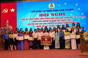 Công đoàn khối giáo dục quận Nam Từ Liêm: Nâng cao vị thế, khẳng định tiềm năng
