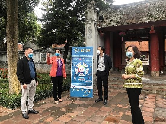 Sở Văn hoá và Thể thao Hà Nội tăng cường thực hiện các biện pháp phòng, chống dịch