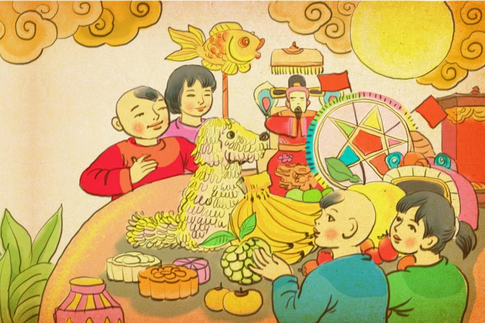 """Hoàng thành Thăng Long trưng bày trực tuyến """"Trung thu sum vầy"""""""