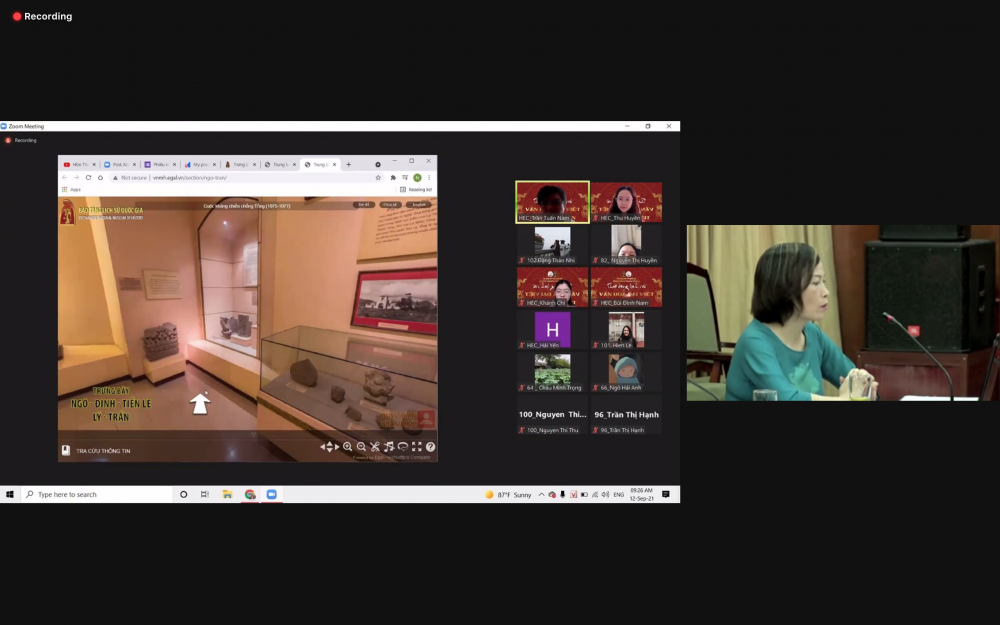 Bảo tàng Lịch sử Quốc gia Việt Nam ứng dụng công nghệ để phục vụ công chúng