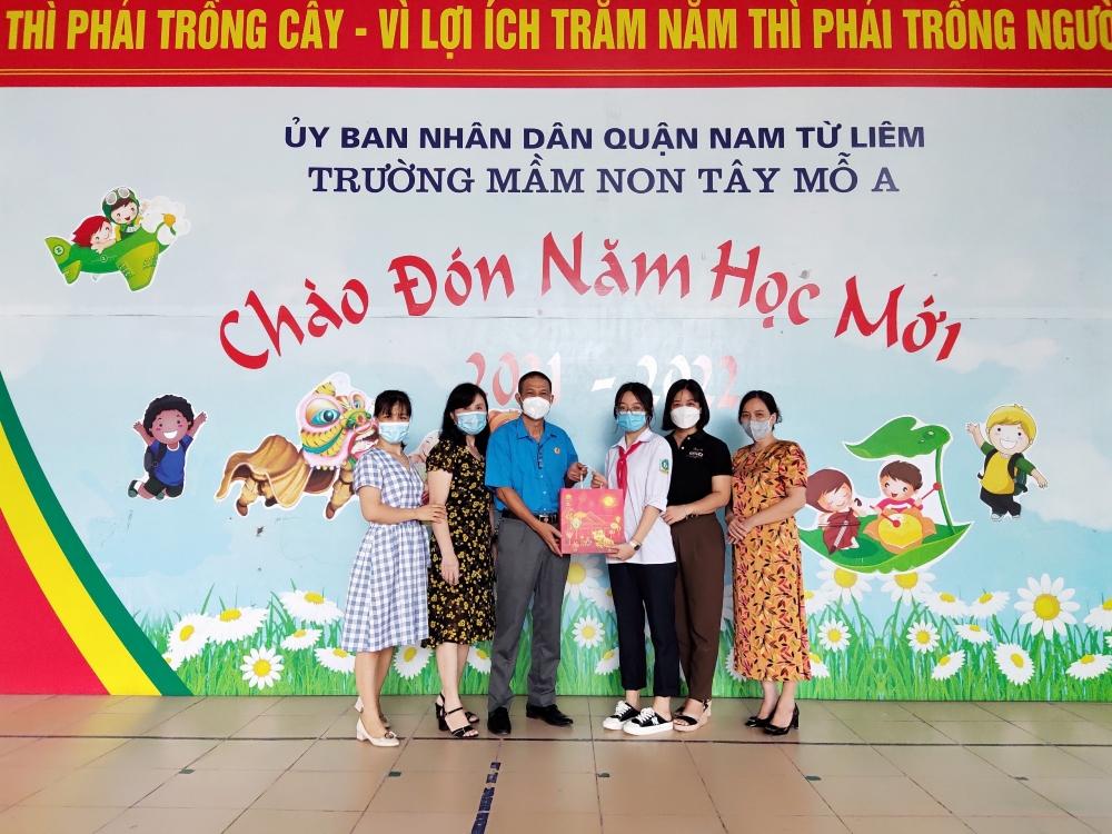 Chắp thêm đôi cánh ước mơ cho con công nhân lao động quận Nam Từ Liêm