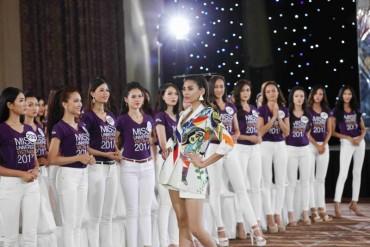 Siêu mẫu Hoàng Yến truyền lửa cho các thí sinh Hoa hậu Hoàn vũ
