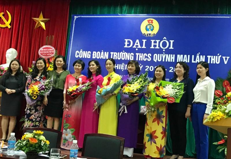 Tổ chức thành công Đại hội điểm công đoàn khối giáo dục