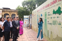 Dấu ấn địa giới hành chính Hà Nội qua tài liệu lưu trữ