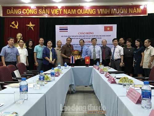 Báo chí Thủ đô góp phần thúc đẩy quan hệ Việt Nam - Thái Lan