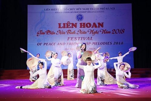 Sắp diễn ra Liên hoan Giai điệu hòa bình hữu nghị năm 2019