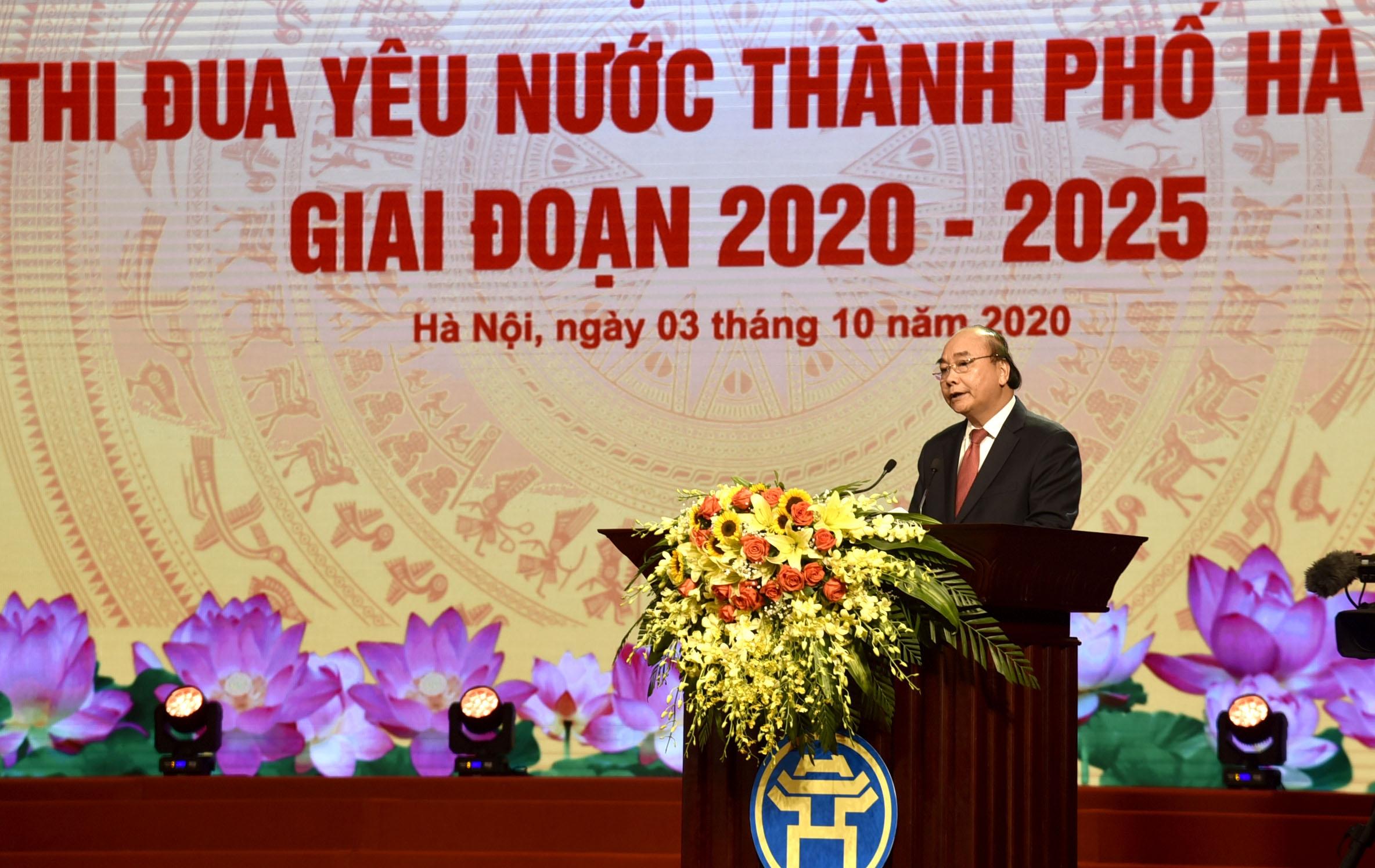 Hà Nội tiếp tục là ngọn cờ đầu trong phong trào thi đua yêu nước của cả nước