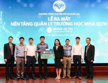 Ra mắt nền tảng quản lý trường học Misa