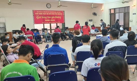 Tuổi trẻ quận Nam Từ Liêm tích cực hưởng ứng Ngày hội Hiến máu tình nguyện