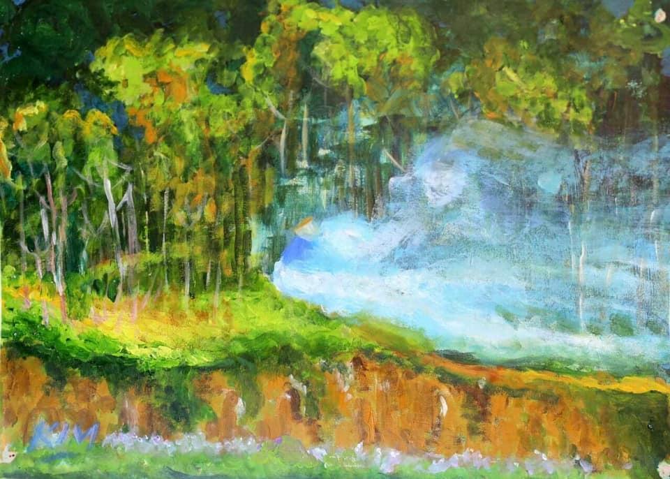 """Triển lãm tranh """"Đi qua mùa thu"""""""