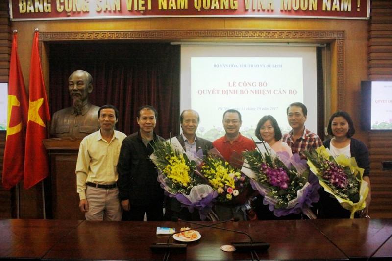 NSND Anh Tú làm Phó Giám đốc phụ trách Nhà hát kịch Việt Nam