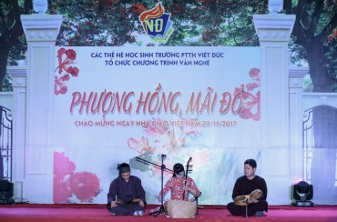 Đêm nhạc tri ân các thế hệ thầy cô giáo Trường THPT Việt Đức