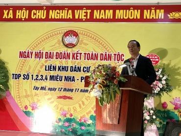 Quận Nam Từ Liêm tổ chức Ngày hội Đại đoàn kết dân tộc