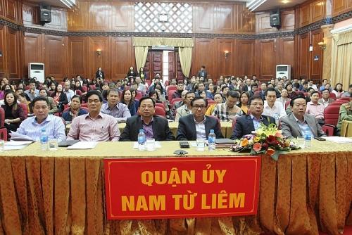 Quận Nam Từ Liêm học tập quán triệt Nghị quyết Trung ương 8 khoá XII