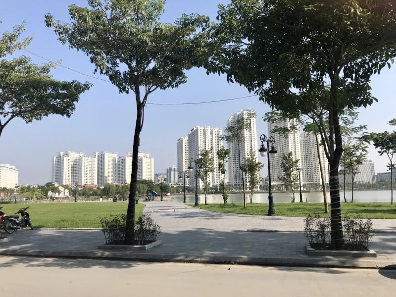 Tăng mảng xanh cho không gian công cộng Thủ đô