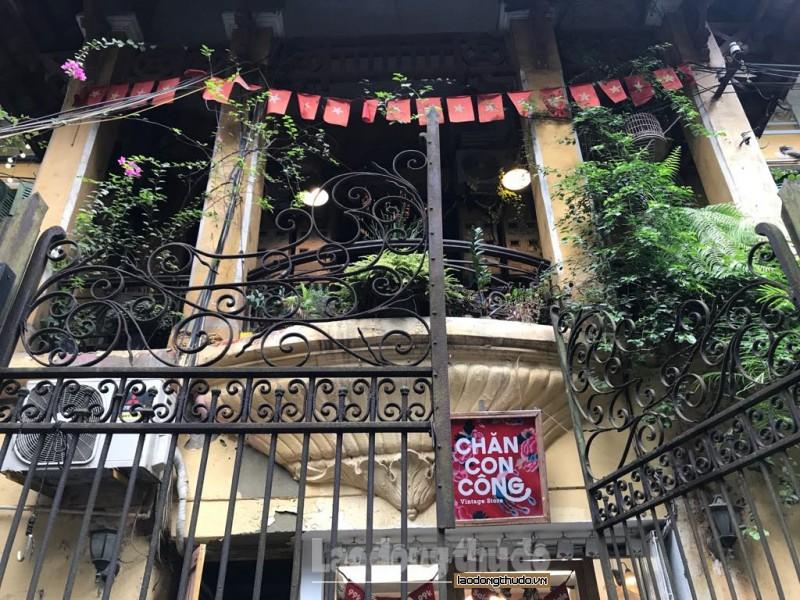 Khám phá biệt thự cổ số 8 phố Chân Cầm
