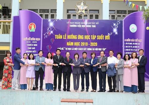 Tăng cường quan hệ hữu nghị và hợp tác giữa quận Tây Hồ và quận Jongno, Hàn Quốc