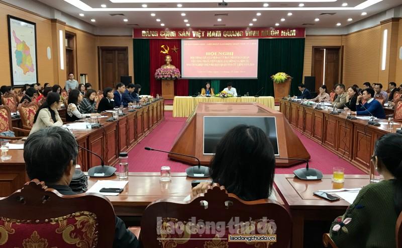 Lãnh đạo quận Nam Từ Liêm đối thoại với hơn 150 công nhân, viên chức, lao động