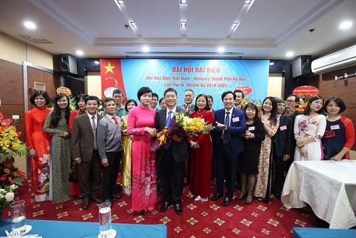 Hội hữu nghị Việt Nam - Hungary thành phố Hà Nội có Chủ tịch mới