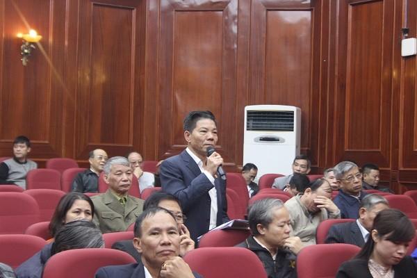Người đứng đầu cấp uỷ, chính quyền quận Nam Từ Liêm đối thoại với nhân dân