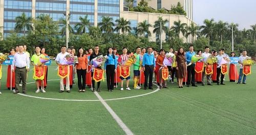 LĐLĐ quận Nam Từ Liêm tổ chức giải bóng đá trong CNVCLĐ năm 2018
