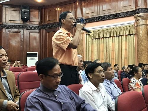 Đại biểu Quốc hội Thành phố Hà Nội tiếp xúc cử tri quận Nam Từ Liêm