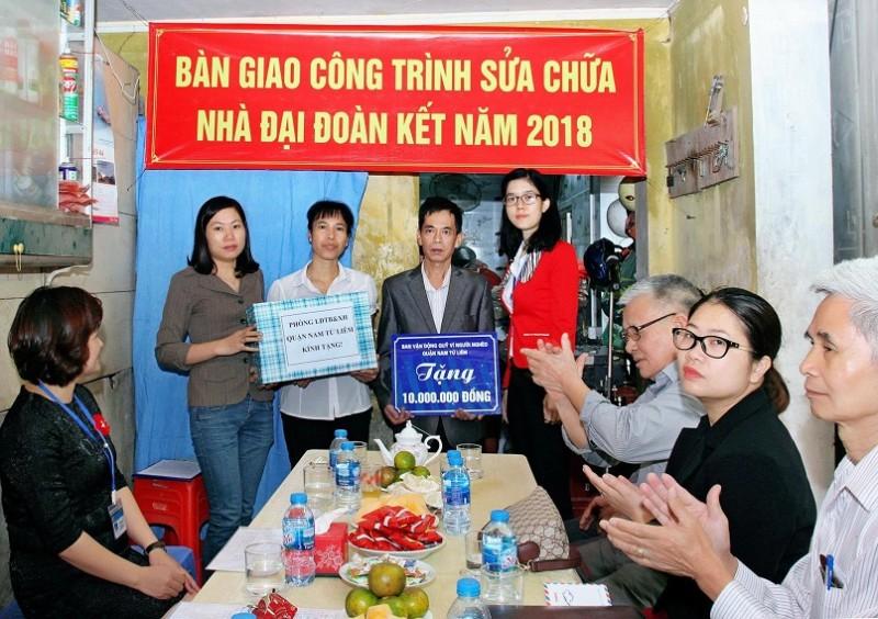 Quận Nam Từ Liêm:   Phấn đấu hết năm 2019 không còn hộ nghèo
