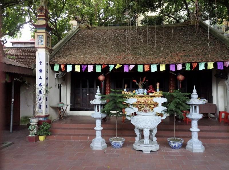 Sẽ hoàn thành bến rước nước tại Miếu thờ Hai Bà Trưng trước Tết âm lịch 2018