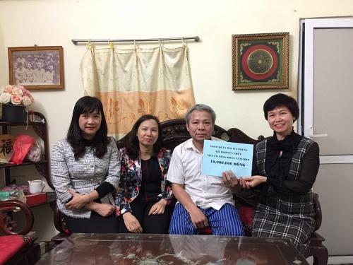 LĐLĐ quận Hai Bà Trưng trao hỗ trợ kinh phí sửa Mái ấm Công đoàn