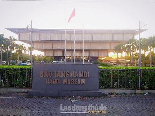 Bảo tàng Hà Nội - nơi tái hiện Hà Nội xưa và nay với hàng ngàn hiện vật