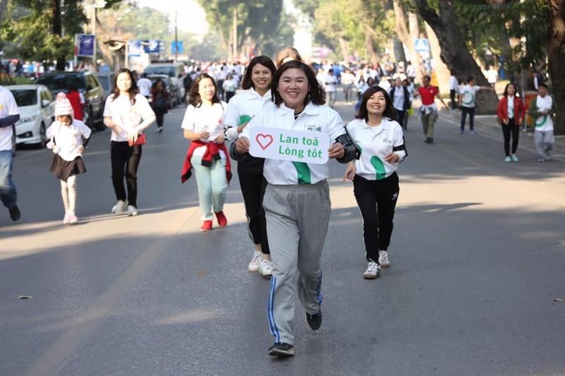 Gần 1,2 tỷ đồng được quyên góp trong Cuộc chạy vì trẻ em Hà Nội 2019