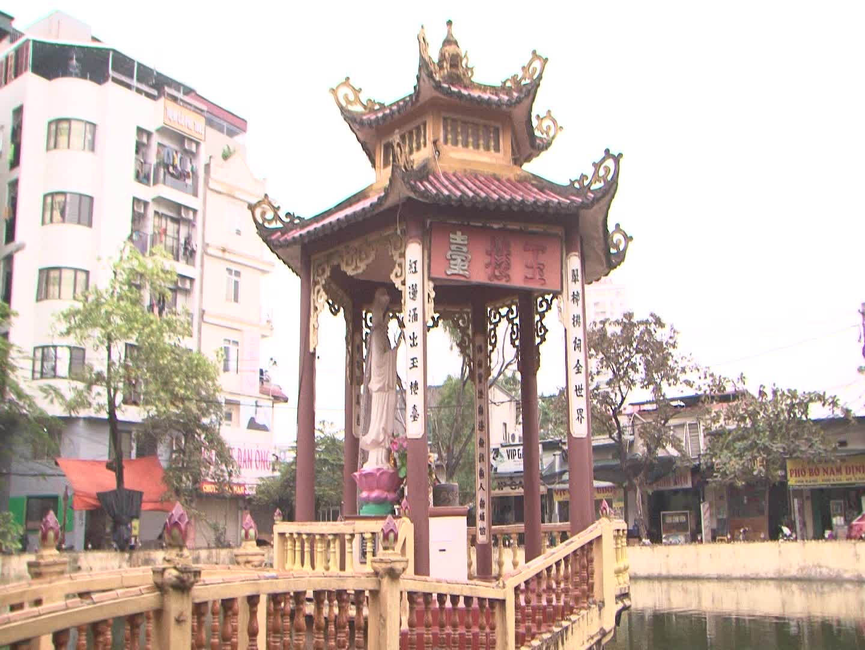 Gắn biển địa điểm lưu niệm sự kiện cách mạng kháng chiến chùa Phùng Khoang