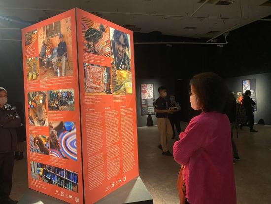 Những cánh cửa Yuendumu - Kho tàng vô giá chứa đựng kiến thức và lịch sử thổ dân Úc