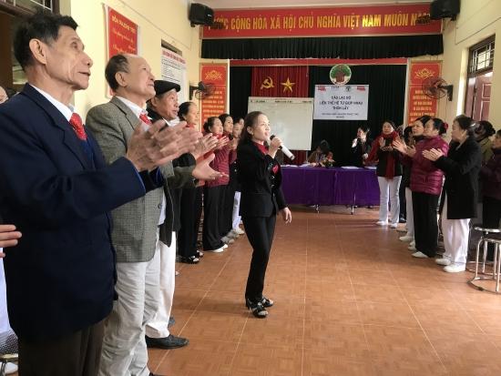 Câu lạc bộ Liên thế hệ tự giúp nhau: Điểm đến thiết thực của người cao tuổi