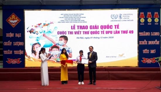 Cuộc thi Viết thư quốc tế UPU lần thứ 50 có chủ đề về đại dịch Covid-19