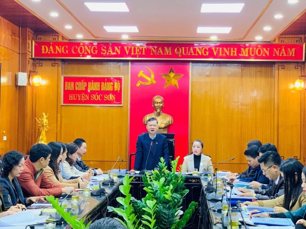 Kiểm tra Quy chế dân chủ tại các đơn vị, trường học huyện Sóc Sơn