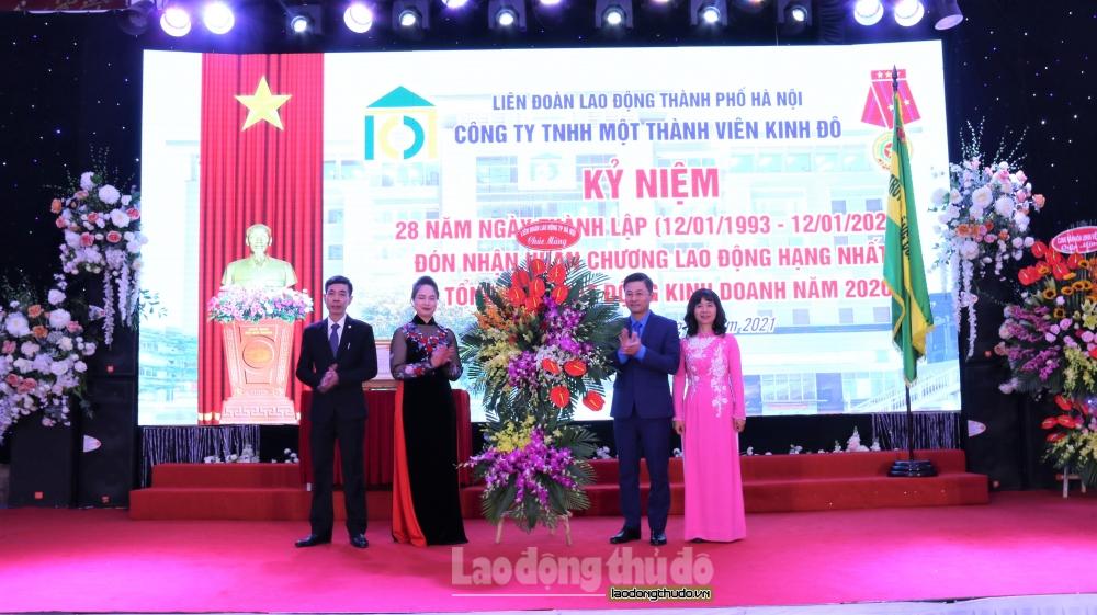 Lễ kỷ niệm 28 năm ngày thành lập công ty, đón huân chương lao động hạng Nhất