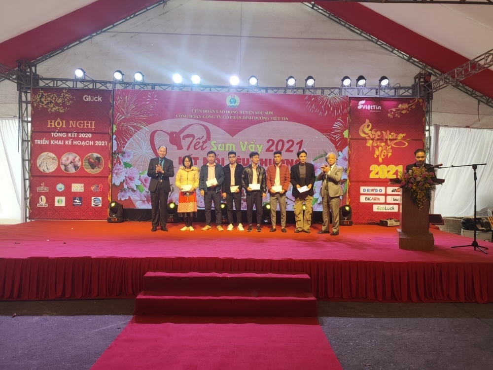 Liên đoàn Lao động huyện Sóc Sơn:  Tổ chức Hội nghị người lao động điểm năm 2021