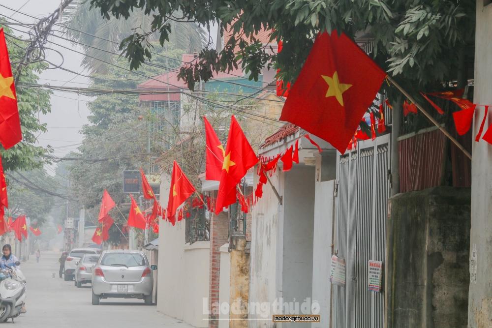 Hà Nội treo cờ Tổ quốc chào mừng bầu cử từ ngày 15/5 đến hết 25/5