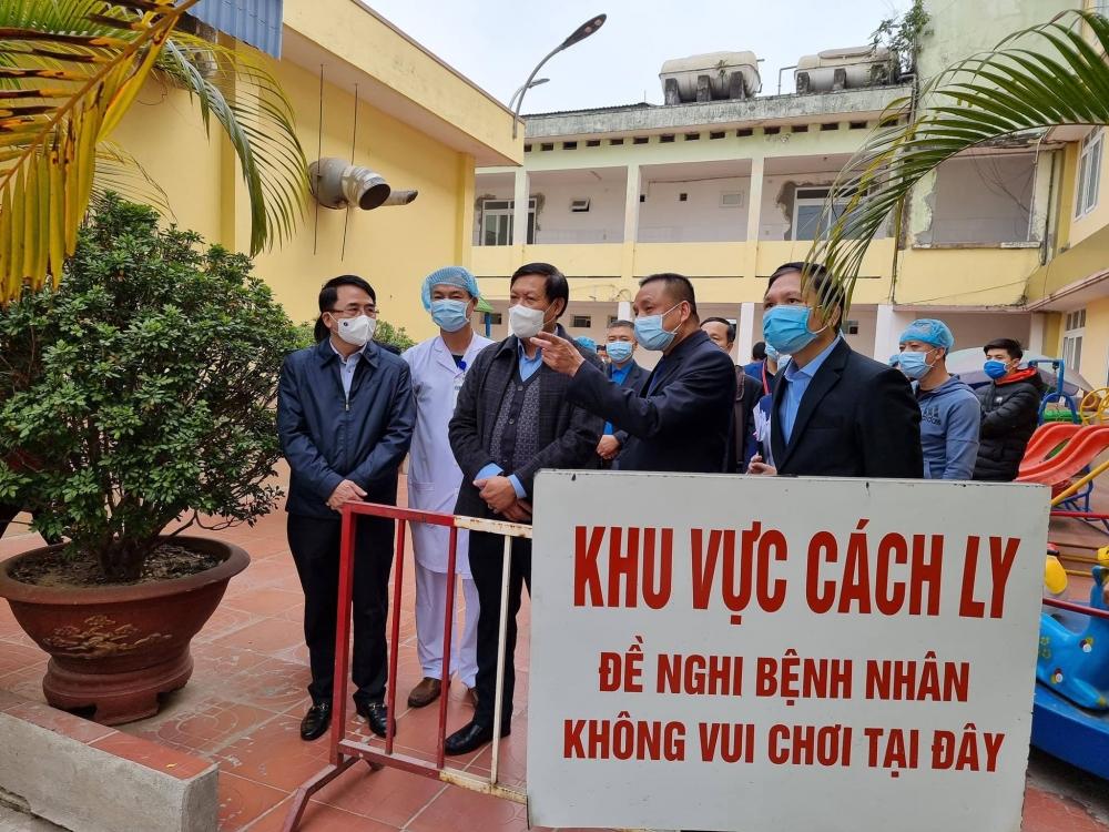 Kiểm tra công tác phòng, chống dịch covid-19 tại Hải Phòng