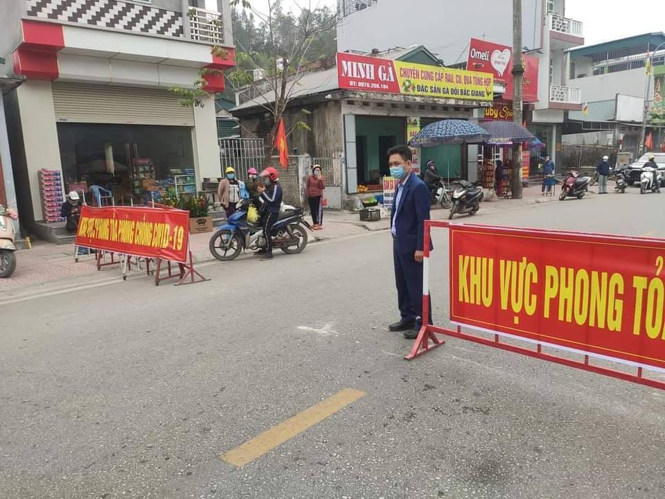 Quảng Ninh: Xe vận chuyển hàng hoá được phép đi qua chốt kiểm dịch