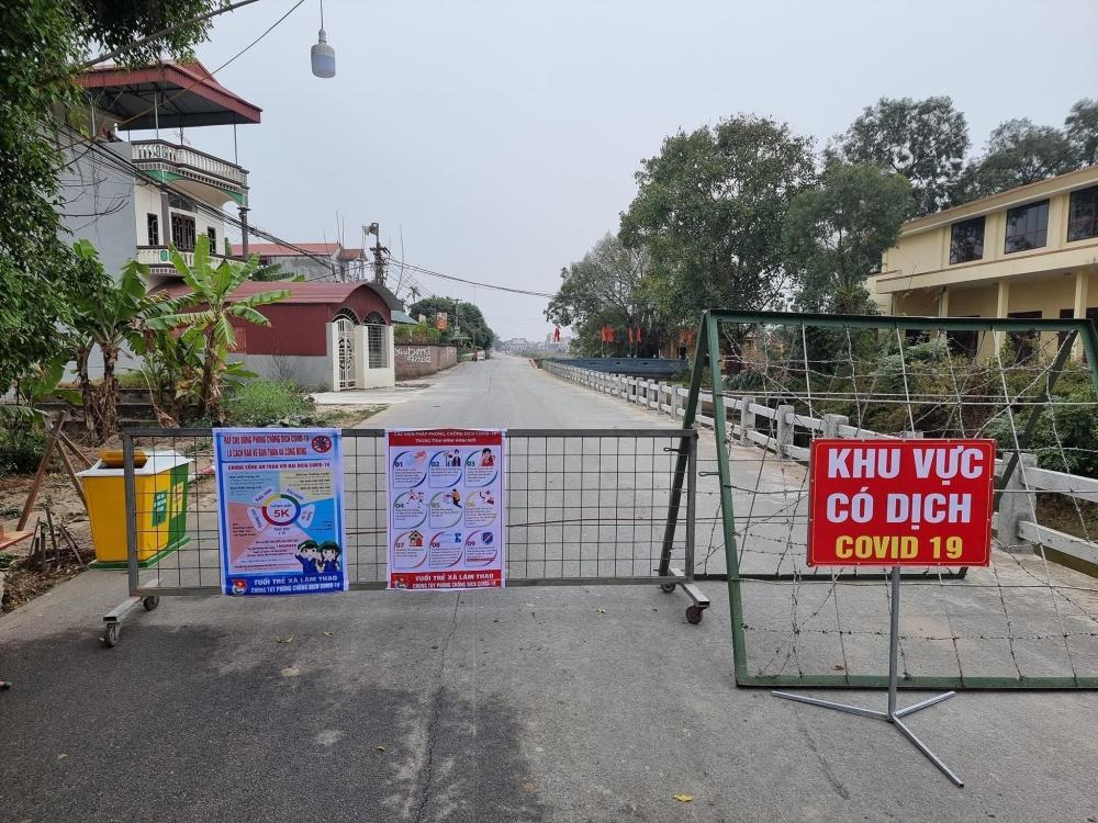 Bắc Ninh huy động tổng lực khoanh vùng để dịch không lây lan ra cộng đồng