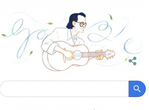 Nhạc sĩ Trịnh Công Sơn được tôn vinh trên trang chủ Google tìm kiếm