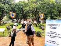 Lượng khách du lịch đến Hà Nội giảm nhẹ trong tháng 1