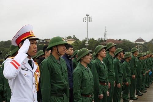 Gặp mặt, động viên thanh niên Thủ đô tình nguyện lên đường nhập ngũ