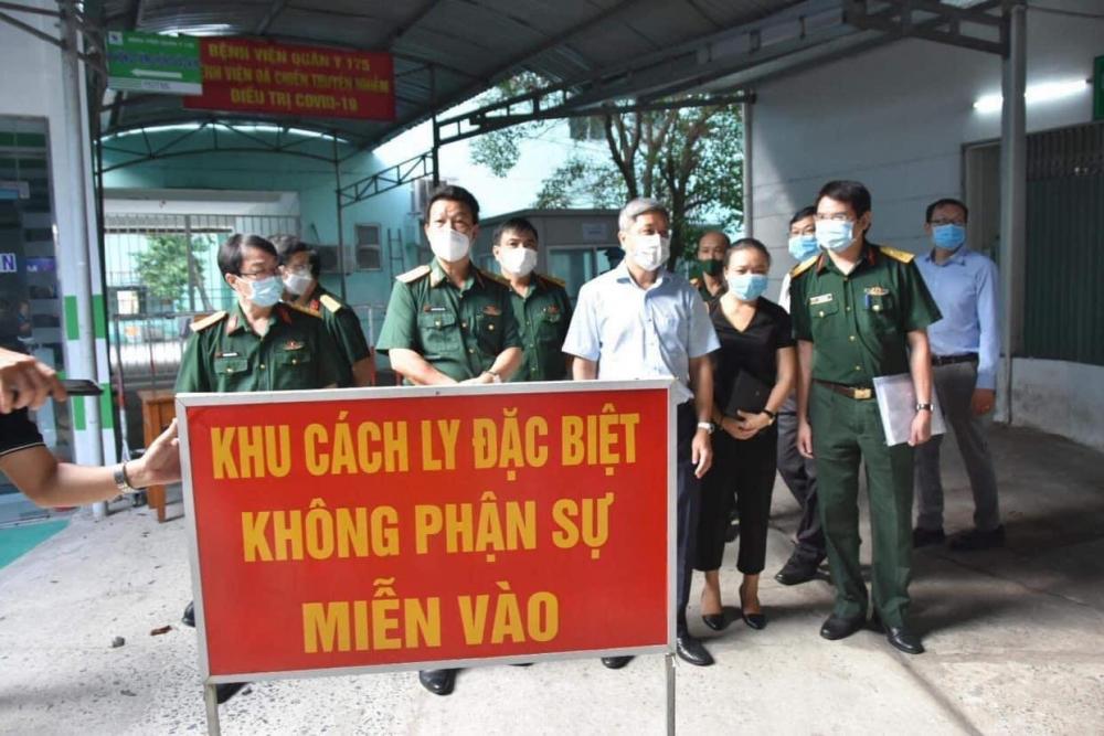 Bệnh viện Quân y 175 sẵn sàng thu dung, điều trị bệnh nhân Covid-19